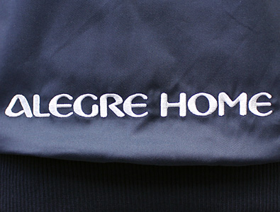 アレグレホーム様 文字のロゴ