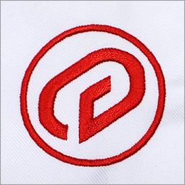 alphauniロゴ抜き柄