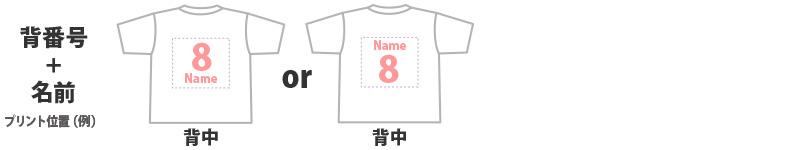 背番号+名前(30㎝×27㎝)