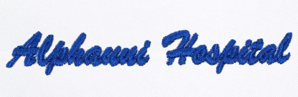 有り文字刺繍alpha-uniHP